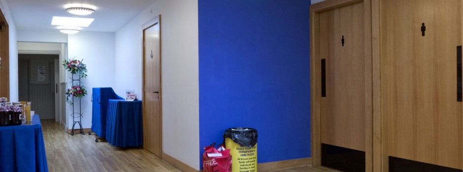 Reception area, St Andrew's Monkseaton
