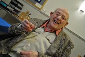 Tony Bates at 90