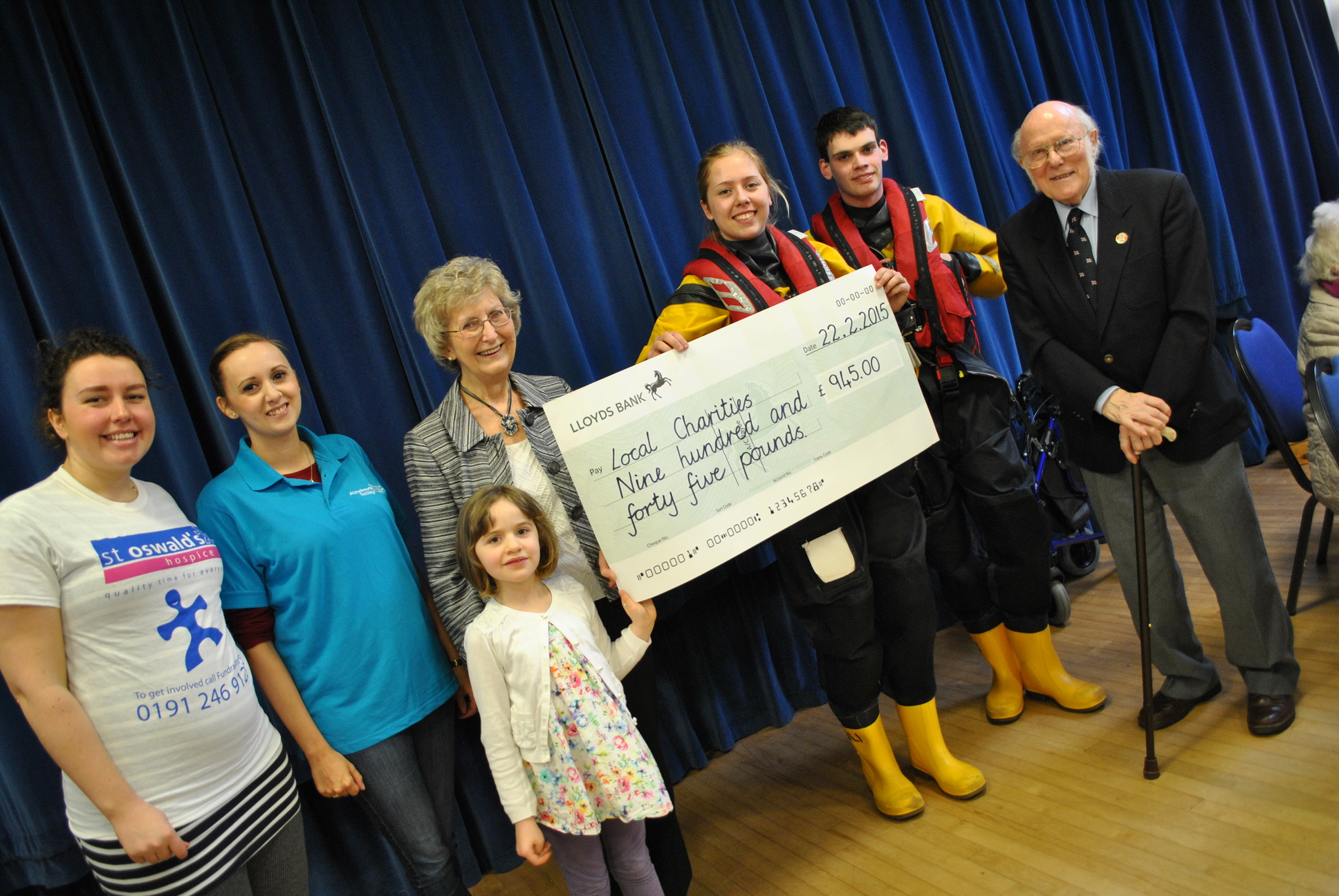 Our 2014 Charity presentation