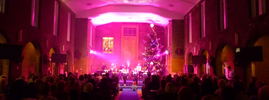 Church – concert layout