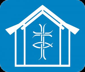 St Andrews Monkseaton blue inverted logo