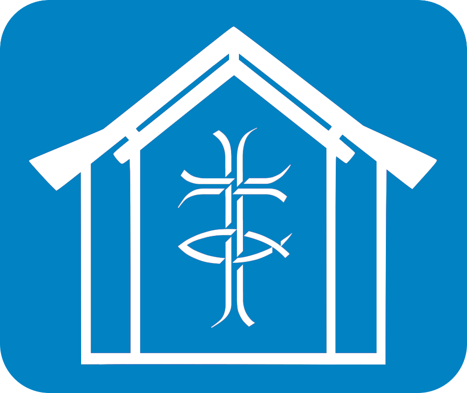 St Andrews Monkseaton blue inverted logo