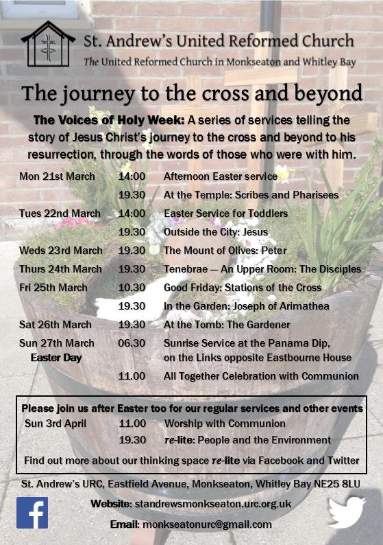 Lent 2016 A5 flyer-Holy Week