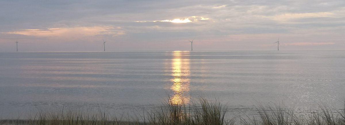 Sunrise over Blyth beach, 05 April 2020, Tim Cooke