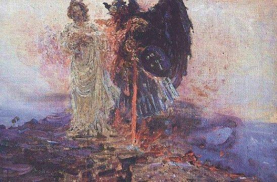 Get behind me Satan - Ilya Repin - 1895